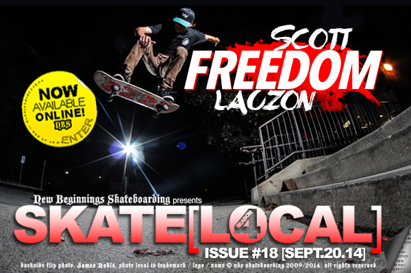 "CLICK TO ENTER :: SKATE[LOCAL]™ ""FREEDOM"" WITH SCOTT LAUZON"