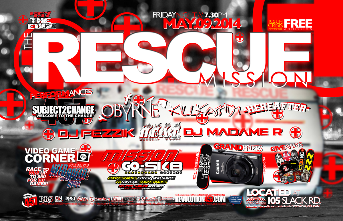"457 THE EDGE ""THE RESCUE MISSION"" MAY 9TH 2014"