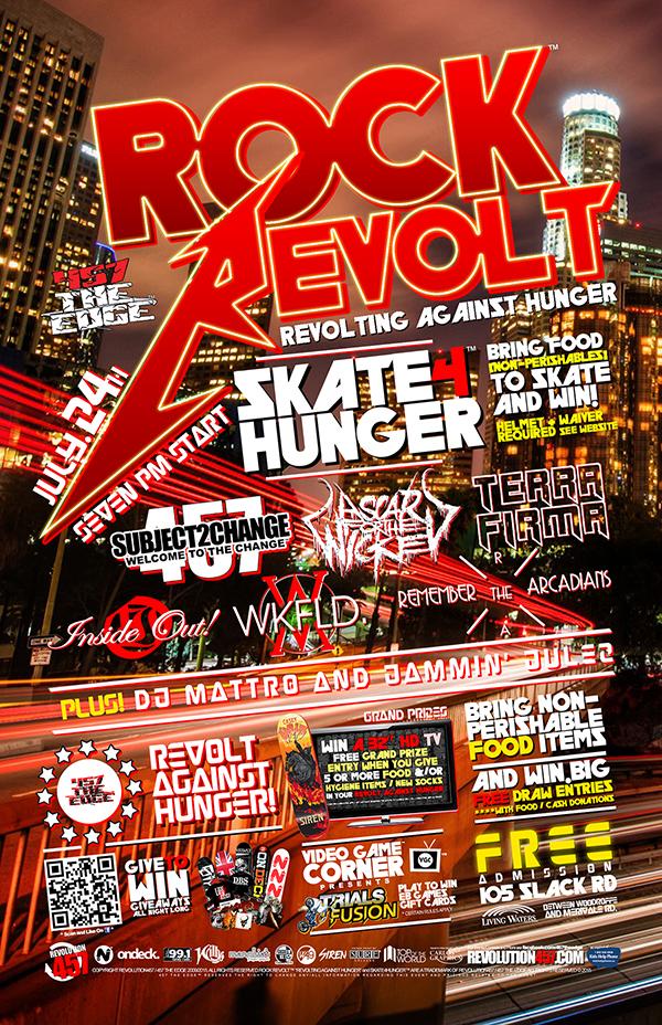 "457 THE EDGE ""ROCK REVOLT"" JULY 24TH  2015"